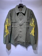 WACKOMARIA<BR>TIM LEHI / ARMY SHIRT(TYPE-1)【SOLD OUT】<img class='new_mark_img2' src='https://img.shop-pro.jp/img/new/icons50.gif' style='border:none;display:inline;margin:0px;padding:0px;width:auto;' />