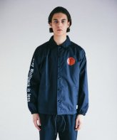 <img class='new_mark_img1' src='https://img.shop-pro.jp/img/new/icons15.gif' style='border:none;display:inline;margin:0px;padding:0px;width:auto;' />ROTTWEILER <BR>CIRCLE ROSE COACH JACKET(BLACK)