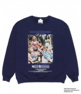 WACKOMARIA<BR>NICE DREAMS /CREW NECK SWEATSHIRT(TYPE-4)(NAVY) 【SOLD OUT】<img class='new_mark_img2' src='https://img.shop-pro.jp/img/new/icons50.gif' style='border:none;display:inline;margin:0px;padding:0px;width:auto;' />