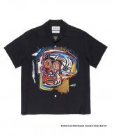 WACKOMARIA<BR> JEAN-MICHEL BASQUIAT / S/S HAWAIIAN SHIRT(TYPE-1)【SOLD OUT】<img class='new_mark_img2' src='https://img.shop-pro.jp/img/new/icons50.gif' style='border:none;display:inline;margin:0px;padding:0px;width:auto;' />