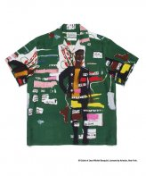 WACKOMARIA<BR> JEAN-MICHEL BASQUIAT / S/S HAWAIIAN SHIRT(TYPE-2) 【SOLD OUT】<img class='new_mark_img2' src='https://img.shop-pro.jp/img/new/icons50.gif' style='border:none;display:inline;margin:0px;padding:0px;width:auto;' />