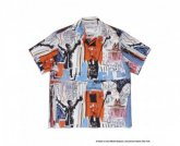 WACKOMARIA<BR> JEAN-MICHEL BASQUIAT / S/S HAWAIIAN SHIRT(TYPE-3)【SOLD OUT】<img class='new_mark_img2' src='https://img.shop-pro.jp/img/new/icons50.gif' style='border:none;display:inline;margin:0px;padding:0px;width:auto;' />