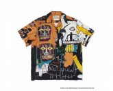 WACKOMARIA<BR> JEAN-MICHEL BASQUIAT / S/S HAWAIIAN SHIRT(TYPE-4)【SOLD OUT】<img class='new_mark_img2' src='https://img.shop-pro.jp/img/new/icons50.gif' style='border:none;display:inline;margin:0px;padding:0px;width:auto;' />