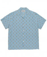 WACKOMARIA<BR>HAWAIIAN SHIRT S/S(TYPE-11)(TURQUISE)【SOLD OUT】<img class='new_mark_img2' src='https://img.shop-pro.jp/img/new/icons50.gif' style='border:none;display:inline;margin:0px;padding:0px;width:auto;' />