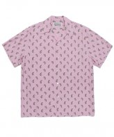 WACKOMARIA<BR>HAWAIIAN SHIRT S/S(TYPE-11)(PINK)【SOLD OUT】<img class='new_mark_img2' src='https://img.shop-pro.jp/img/new/icons50.gif' style='border:none;display:inline;margin:0px;padding:0px;width:auto;' />
