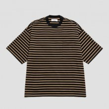 MARKA <BR>50/2 COMPACT 32G KNIT BORDER TEE (BLK/BEI)【SOLD OUT】<img class='new_mark_img2' src='https://img.shop-pro.jp/img/new/icons50.gif' style='border:none;display:inline;margin:0px;padding:0px;width:auto;' />