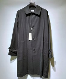 marka <BR>SHIRT COAT - 2/48 WOOL SOFT SERGE - (GREEN) 【SOLD OUT】<img class='new_mark_img2' src='https://img.shop-pro.jp/img/new/icons50.gif' style='border:none;display:inline;margin:0px;padding:0px;width:auto;' />