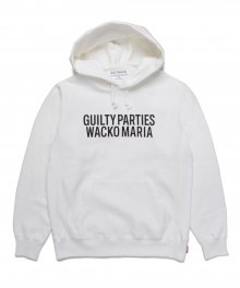 <img class='new_mark_img1' src='https://img.shop-pro.jp/img/new/icons15.gif' style='border:none;display:inline;margin:0px;padding:0px;width:auto;' />WACKOMARIA<BR>HEAVY WEIGHT PULLOVER HOODED SWEAT SHIRT(WHITE)