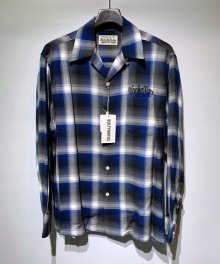 WACKOMARIA<BR>CALIFORNIA CHECK OPEN COLLAR SHIRT(TYPE-2) 【SOLD OUT】<img class='new_mark_img2' src='https://img.shop-pro.jp/img/new/icons50.gif' style='border:none;display:inline;margin:0px;padding:0px;width:auto;' />