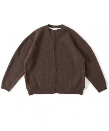 <img class='new_mark_img1' src='https://img.shop-pro.jp/img/new/icons15.gif' style='border:none;display:inline;margin:0px;padding:0px;width:auto;' />UNIVERSAL PRODUCTS<BR>CARDED MERINO WOOL CARDIGANE(BROWN)