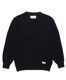 WACKOMARIA<BR>CLASSIC CREW NECK SWEATER(BLACK)【SOLD OUT】<img class='new_mark_img2' src='https://img.shop-pro.jp/img/new/icons50.gif' style='border:none;display:inline;margin:0px;padding:0px;width:auto;' />