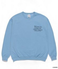 WACKOMARIA<BR>BILL EVANS / CREW NECK SWEAT SHIRT(TYPE-3)【SOLD OUT】<img class='new_mark_img2' src='https://img.shop-pro.jp/img/new/icons50.gif' style='border:none;display:inline;margin:0px;padding:0px;width:auto;' />
