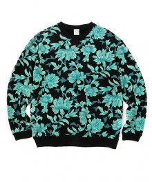 <img class='new_mark_img1' src='https://img.shop-pro.jp/img/new/icons15.gif' style='border:none;display:inline;margin:0px;padding:0px;width:auto;' />CALEE<BR>ALLOVER FLOWER PATTERN CREW SWEAT