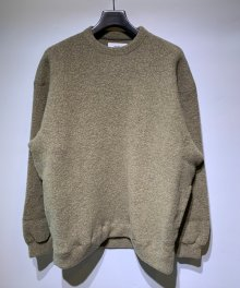 <img class='new_mark_img1' src='https://img.shop-pro.jp/img/new/icons15.gif' style='border:none;display:inline;margin:0px;padding:0px;width:auto;' />MARKA <BR>CREW NECK - WOOL PILE SHEEP - (YELLOW BEIGE)