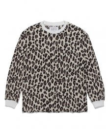 <img class='new_mark_img1' src='https://img.shop-pro.jp/img/new/icons15.gif' style='border:none;display:inline;margin:0px;padding:0px;width:auto;' />WACKOMARIA<BR>LEOPARD THERMAL SHIRT(TYPE-2)