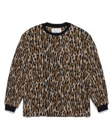 WACKOMARIA<BR>LEOPARD THERMAL SHIRT(TYPE-1)【SOLD OUT】<img class='new_mark_img2' src='https://img.shop-pro.jp/img/new/icons50.gif' style='border:none;display:inline;margin:0px;padding:0px;width:auto;' />