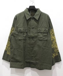 WACKOMARIA<BR>TIMLEHI / ARMY SHIRT 【SOLD OUT】<img class='new_mark_img2' src='https://img.shop-pro.jp/img/new/icons50.gif' style='border:none;display:inline;margin:0px;padding:0px;width:auto;' />