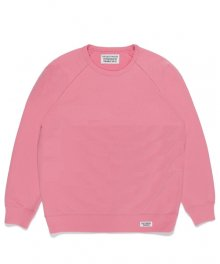 WACKOMARIA<BR>WASHED HEAVY WEIGHT CREW NECK SWEAT SHIRT(TYPE-1)(PINK)【SOLD OUT】<img class='new_mark_img2' src='https://img.shop-pro.jp/img/new/icons50.gif' style='border:none;display:inline;margin:0px;padding:0px;width:auto;' />