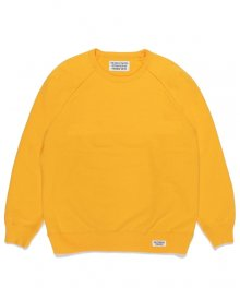 <img class='new_mark_img1' src='https://img.shop-pro.jp/img/new/icons15.gif' style='border:none;display:inline;margin:0px;padding:0px;width:auto;' />WACKOMARIA<BR>WASHED HEAVY WEIGHT CREW NECK SWEAT SHIRT(TYPE-1)(YELLOW)