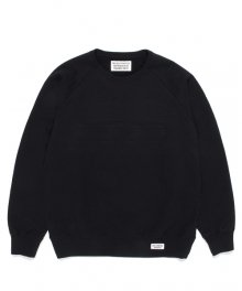 <img class='new_mark_img1' src='https://img.shop-pro.jp/img/new/icons15.gif' style='border:none;display:inline;margin:0px;padding:0px;width:auto;' />WACKOMARIA<BR>WASHED HEAVY WEIGHT CREW NECK SWEAT SHIRT(TYPE-1)(BLACK)
