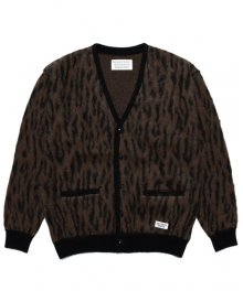 WACKOMARIA<BR>LEOPARD MOHAIR CARDIGAN(TYPE-2)【SOLD OUT】<img class='new_mark_img2' src='https://img.shop-pro.jp/img/new/icons50.gif' style='border:none;display:inline;margin:0px;padding:0px;width:auto;' />