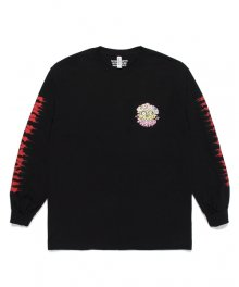 WACKOMARIA<BR>TIMLEHI / CREW NECK LONG SLEEVE T-SHIRT(TYPE-2)(BLACK)【SOLD OUT】<img class='new_mark_img2' src='https://img.shop-pro.jp/img/new/icons50.gif' style='border:none;display:inline;margin:0px;padding:0px;width:auto;' />