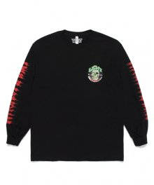 WACKOMARIA<BR>TIMLEHI / CREW NECK LONG SLEEVE T-SHIRT(TYPE-1)(BLACK) 【SOLD OUT】<img class='new_mark_img2' src='https://img.shop-pro.jp/img/new/icons50.gif' style='border:none;display:inline;margin:0px;padding:0px;width:auto;' />