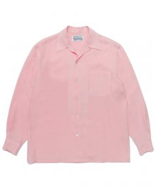 WACKOMARIA<BR> 50'S SHIRT L/S(PINK) 【SOLD OUT】<img class='new_mark_img2' src='https://img.shop-pro.jp/img/new/icons50.gif' style='border:none;display:inline;margin:0px;padding:0px;width:auto;' />