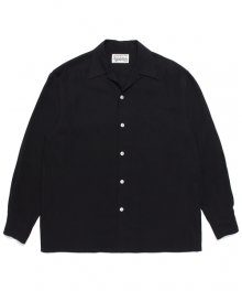 WACKOMARIA<BR> 50'S SHIRT L/S(BLACK)【SOLD OUT】<img class='new_mark_img2' src='https://img.shop-pro.jp/img/new/icons50.gif' style='border:none;display:inline;margin:0px;padding:0px;width:auto;' />