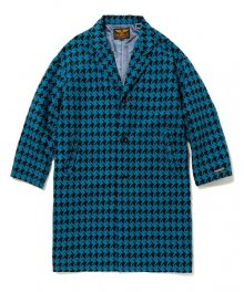 <img class='new_mark_img1' src='https://img.shop-pro.jp/img/new/icons15.gif' style='border:none;display:inline;margin:0px;padding:0px;width:auto;' />CALEE<BR>HOUND TOOTH PATTERN CHESTER COAT