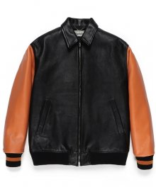 WACKOMARIA<BR>LEATHER VARSITY JACKET(TYPE-3)【SOLD OUT】<img class='new_mark_img2' src='https://img.shop-pro.jp/img/new/icons50.gif' style='border:none;display:inline;margin:0px;padding:0px;width:auto;' />