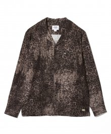 <img class='new_mark_img1' src='https://img.shop-pro.jp/img/new/icons15.gif' style='border:none;display:inline;margin:0px;padding:0px;width:auto;' />CRIMIE <BR>NOISE LEOPARD LONG SLEEVE SHIRT