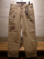 <img class='new_mark_img1' src='https://img.shop-pro.jp/img/new/icons35.gif' style='border:none;display:inline;margin:0px;padding:0px;width:auto;' />Backchannel<BR> NATIVE PRINT CHINO PANTS(BEIGE)