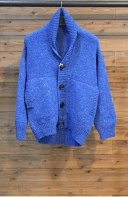 <img class='new_mark_img1' src='https://img.shop-pro.jp/img/new/icons15.gif' style='border:none;display:inline;margin:0px;padding:0px;width:auto;' />MARKAWARE <BR> DROP SHOULDER CARDIGAN(BLUE)