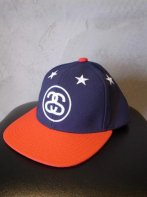 STUSSY KIDS <BR> Kids 6 Stars Snapback(Navy/Red)【SOLD OUT】<img class='new_mark_img2' src='https://img.shop-pro.jp/img/new/icons50.gif' style='border:none;display:inline;margin:0px;padding:0px;width:auto;' />