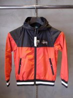 STUSSY KIDS <BR> Kids Storm Windbreaker(Red/Black)【SOLD OUT】<img class='new_mark_img2' src='https://img.shop-pro.jp/img/new/icons50.gif' style='border:none;display:inline;margin:0px;padding:0px;width:auto;' />