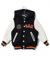 STUSSY KIDS <BR> Kids I.S.T Varsity Jacket【SOLD OUT】<img class='new_mark_img2' src='https://img.shop-pro.jp/img/new/icons50.gif' style='border:none;display:inline;margin:0px;padding:0px;width:auto;' />