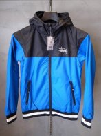 STUSSY KIDS <BR> Kids Storm Windbreaker(Blue/Black)【SOLD OUT】<img class='new_mark_img2' src='https://img.shop-pro.jp/img/new/icons50.gif' style='border:none;display:inline;margin:0px;padding:0px;width:auto;' />