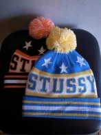 STUSSY KIDS <BR> All Star Pom-Pom Beanie【SOLD OUT】<img class='new_mark_img2' src='https://img.shop-pro.jp/img/new/icons50.gif' style='border:none;display:inline;margin:0px;padding:0px;width:auto;' />