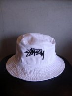 STUSSY KIDS <BR> Kids Original Stock Washed Crusher (WHITE)【SOLD OUT】<img class='new_mark_img2' src='https://img.shop-pro.jp/img/new/icons50.gif' style='border:none;display:inline;margin:0px;padding:0px;width:auto;' />