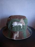 STUSSY KIDS <BR> Kids Original Stock Washed Crusher (CAMO)【SOLD OUT】<img class='new_mark_img2' src='https://img.shop-pro.jp/img/new/icons50.gif' style='border:none;display:inline;margin:0px;padding:0px;width:auto;' />