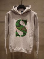 STUSSY KIDS <BR>Kids CAMO S Hoodie(GRAY)【SOLD OUT】<img class='new_mark_img2' src='https://img.shop-pro.jp/img/new/icons50.gif' style='border:none;display:inline;margin:0px;padding:0px;width:auto;' />