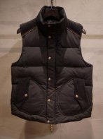 LOSTCONTROL<BR> Stand Collar Down Vest (Black)【SOLD OUT】<img class='new_mark_img2' src='https://img.shop-pro.jp/img/new/icons50.gif' style='border:none;display:inline;margin:0px;padding:0px;width:auto;' />