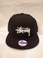 STUSSY KIDS <BR>Kids Stock New Era Ball Cap【SOLD OUT】<img class='new_mark_img2' src='https://img.shop-pro.jp/img/new/icons50.gif' style='border:none;display:inline;margin:0px;padding:0px;width:auto;' />
