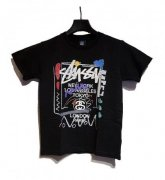 STUSSY KIDS <BR>Kids WT Doodie Tee(BLACK)【SOLD OUT】<img class='new_mark_img2' src='https://img.shop-pro.jp/img/new/icons50.gif' style='border:none;display:inline;margin:0px;padding:0px;width:auto;' />