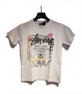 STUSSY KIDS <BR>Kids WT Doodie Tee(WHITE)【SOLD OUT】<img class='new_mark_img2' src='https://img.shop-pro.jp/img/new/icons50.gif' style='border:none;display:inline;margin:0px;padding:0px;width:auto;' />