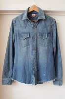 LEVI'S VINTAGE CLOTHING ( U.S.A. ) 70S LIGHT DENIM SHIRT