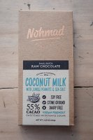 <img class='new_mark_img1' src='https://img.shop-pro.jp/img/new/icons50.gif' style='border:none;display:inline;margin:0px;padding:0px;width:auto;' />Nohmad Snack Co. ( CA. ) COCONUT MILK WITH JUNGLE PEANUTS & SEA SALT CHOCOLATE