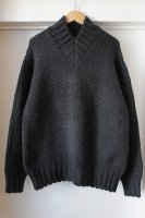 <img class='new_mark_img1' src='https://img.shop-pro.jp/img/new/icons50.gif' style='border:none;display:inline;margin:0px;padding:0px;width:auto;' />[ AURALEE ] SUPER FINE WOOL AIRY KNIT V-NECK P/O