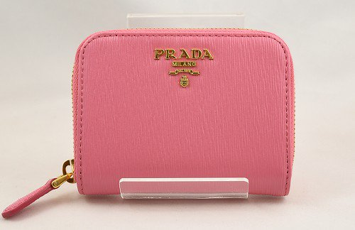 <img class='new_mark_img1' src='https://img.shop-pro.jp/img/new/icons49.gif' style='border:none;display:inline;margin:0px;padding:0px;width:auto;' />【50%OFF】PRADA(プラダ)  ピンク コインケース IMM268